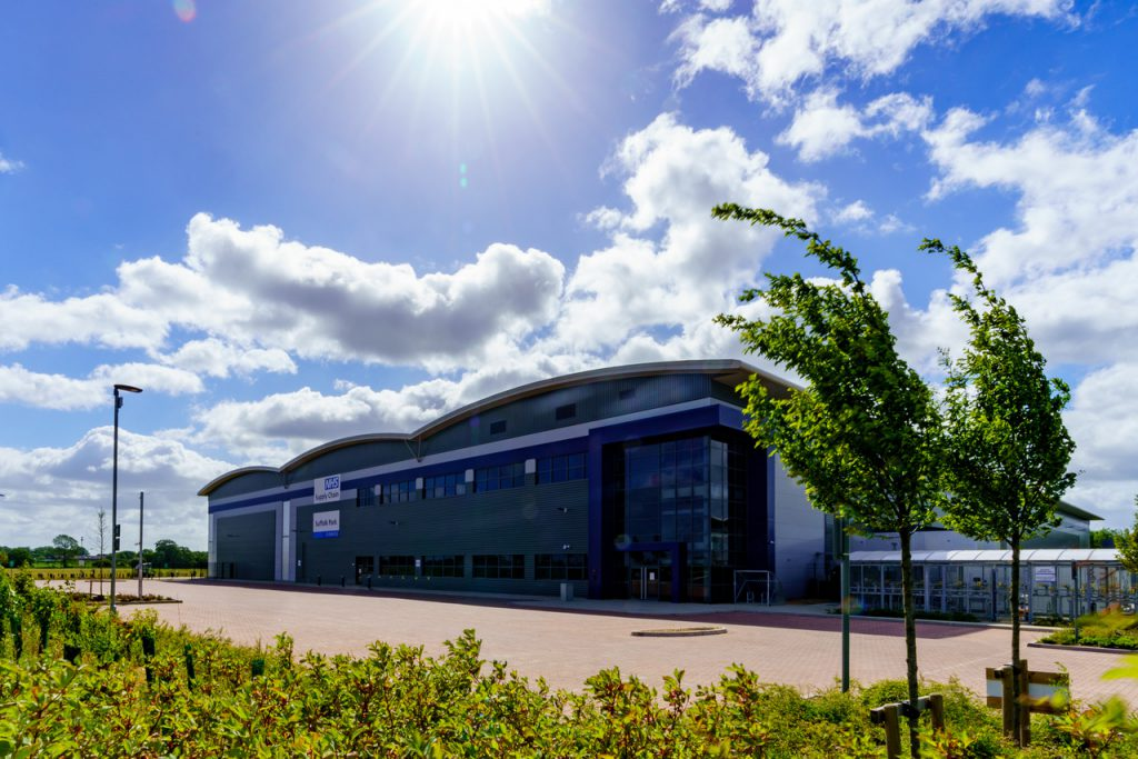 Bury St Edmunds Logistics Site - NHS Supply Chain Suffolk Park
