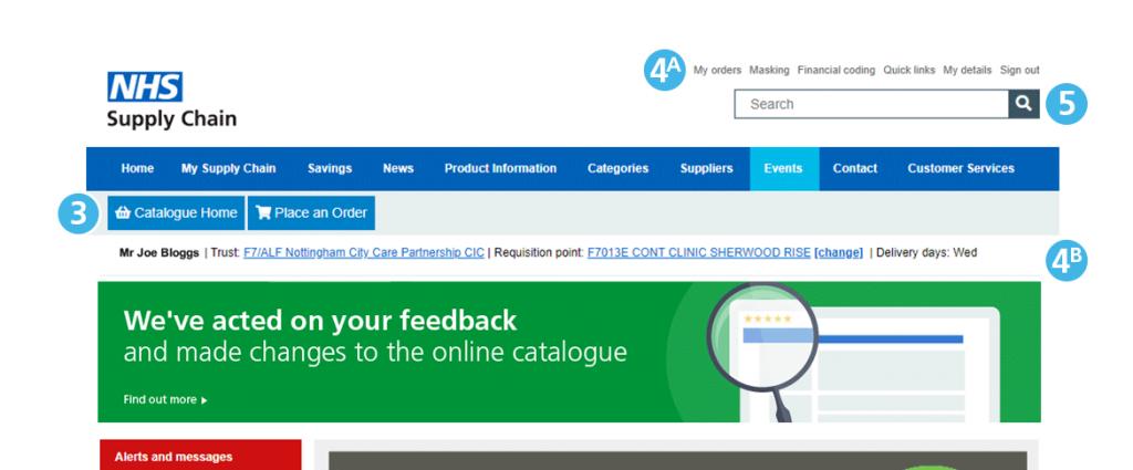 Second Screenshot Image - Online Catalogue