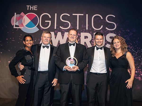 Logistics Awards win for NHS Supply Chain