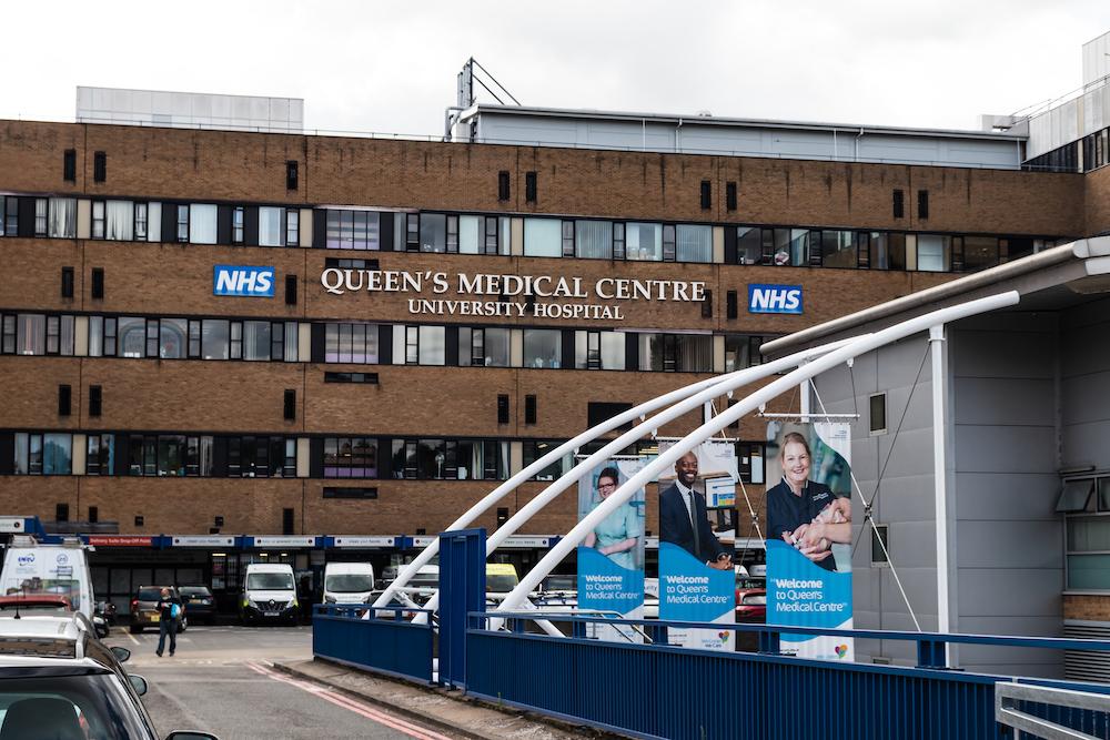 Queens Medical Centre entrance