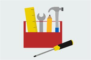 Illustration of toolkit