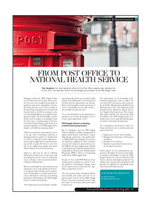 From Post Office to National Health Service
