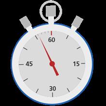 60 Second Clock Image
